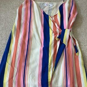 Line + Dot summer rainbow dress
